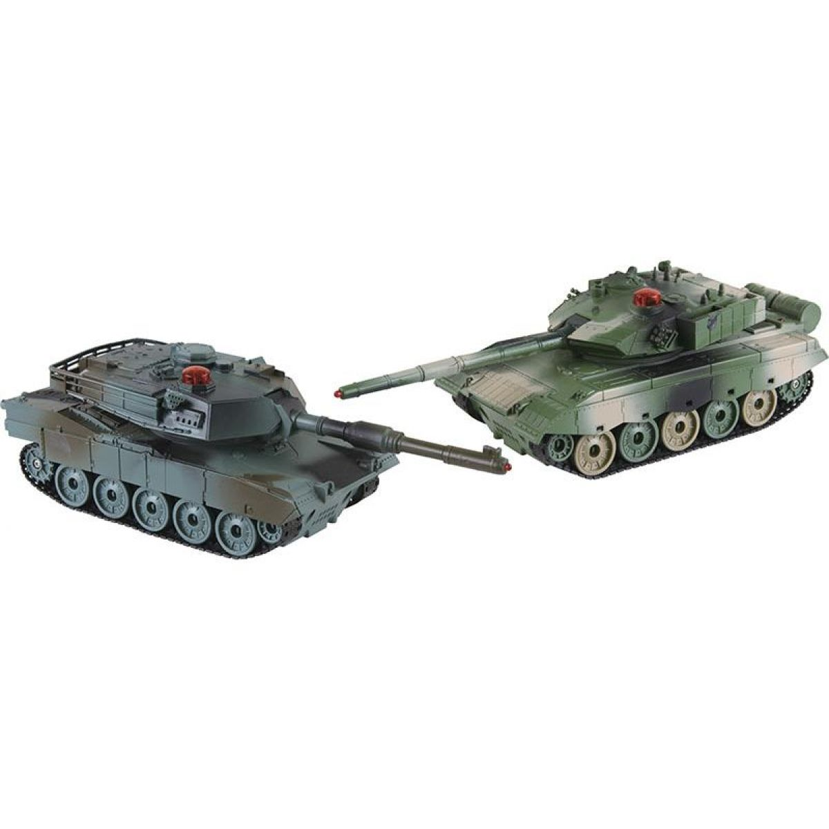 HM Studio RC Tank ZTZ96A vs. M1A2