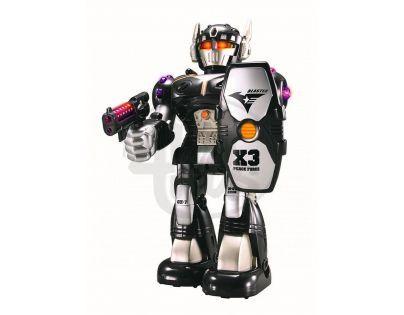 Hm Studio Robot Mighty Warrior - Černý