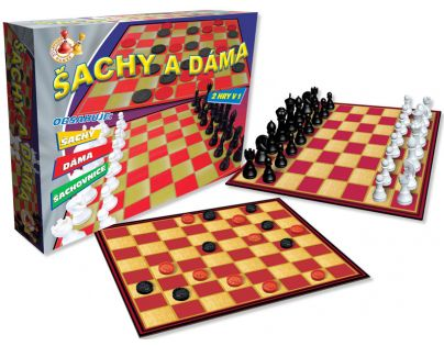 HM Studio 15E3363 - Šachy a dáma