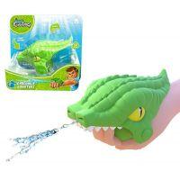 HM Studio Stříkací krokodýl do vody zelený