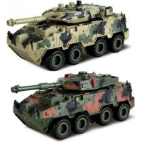 HM Studio Tank 4WD světlo a zvuk 1:28