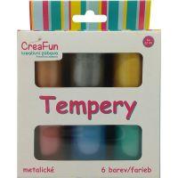 HM Studio Tempery 6 barev metalické