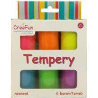 HM Studio Tempery 6 barev neonové