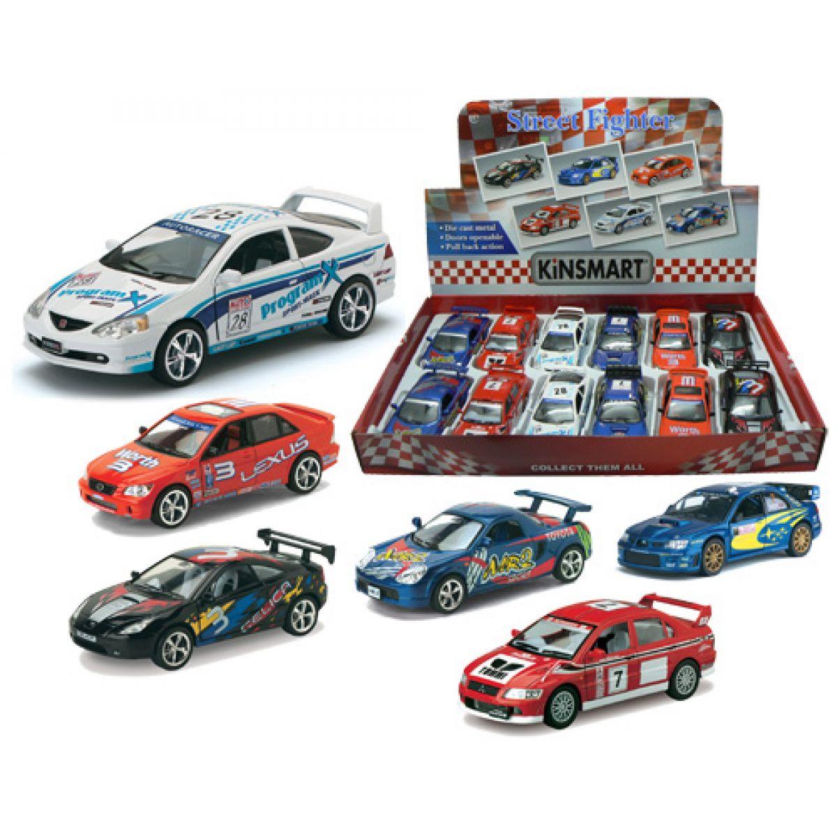 HM Studio Cars Kovový model závodní auta