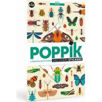 Poppik Samolepkový plakát vzdělávací Hmyz