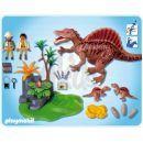Playmobil 4174 - Hnízdo Spinosaura 2