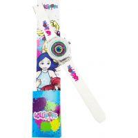 EP Line Hodinky Lollipopz s LED světlem bílý pásek