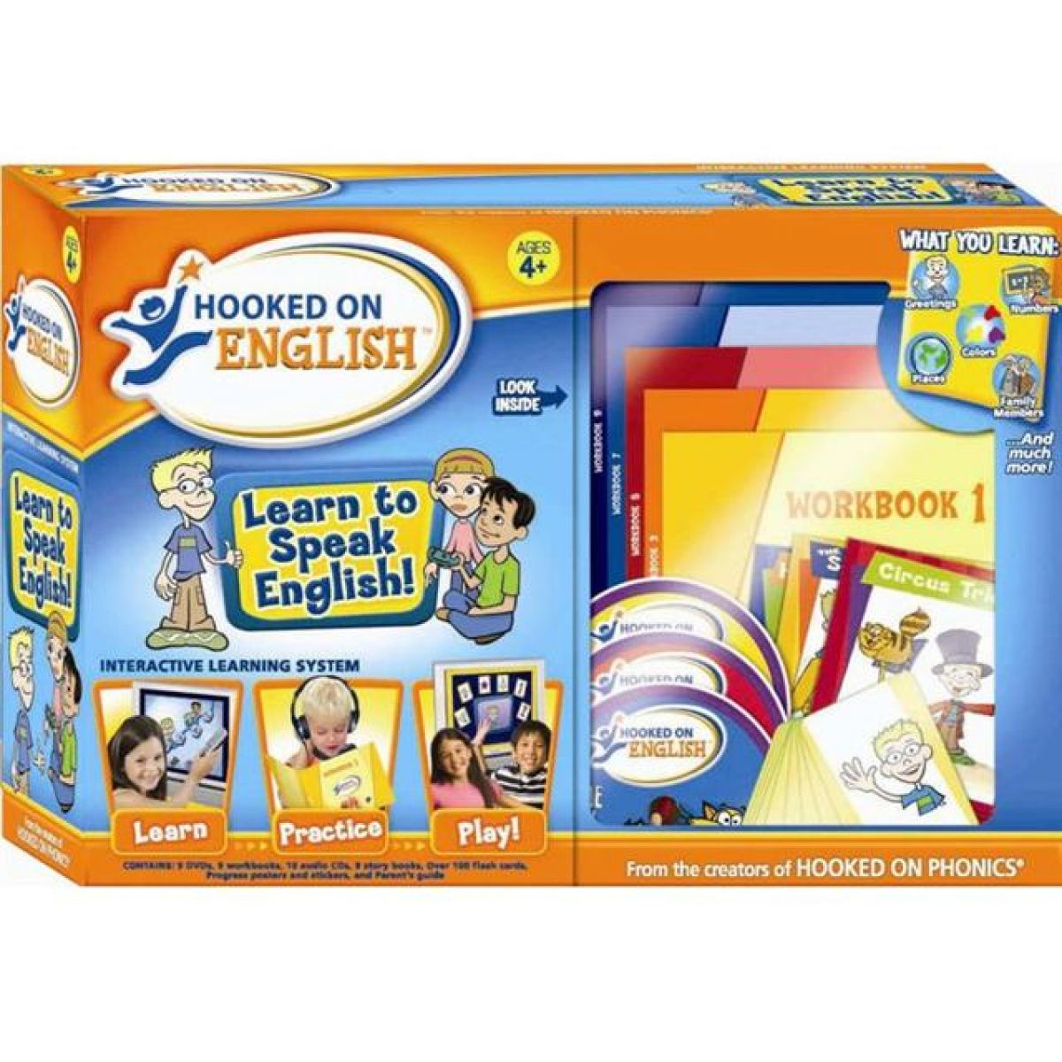 Hooked on English Výuková sada angličtina pro děti