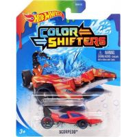 Hot Wheels Angličák Color Shifters Scorpedo