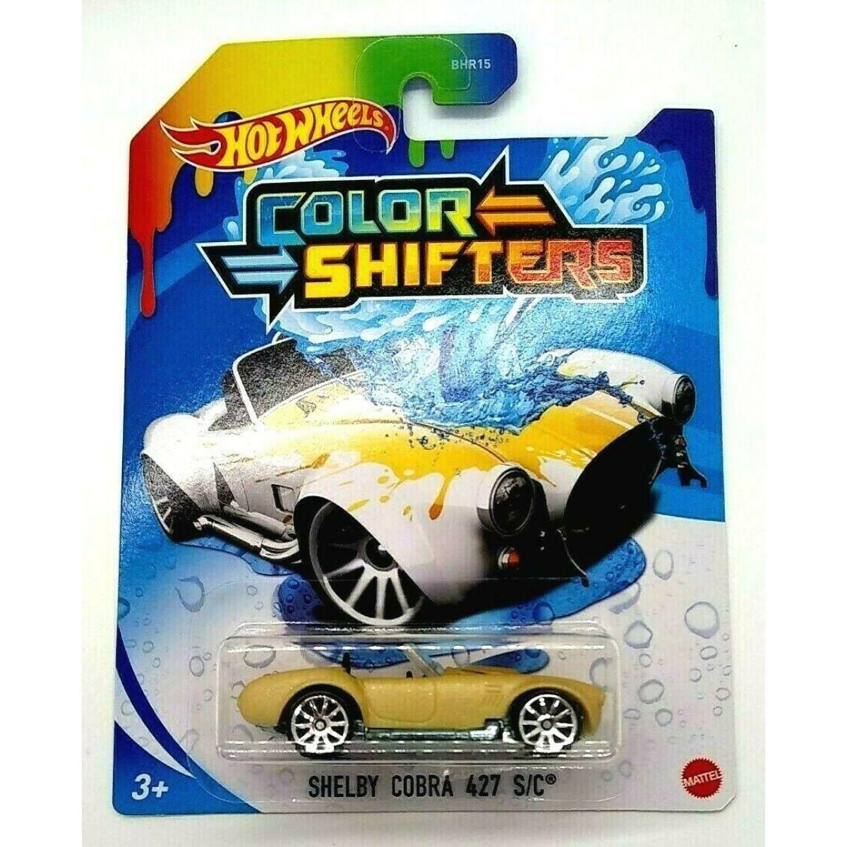 Hot Wheels Angličák Color Shifters Shelby Cobra 427 S-C