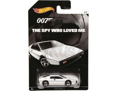 Hot Wheels angličák James Bond 007 - Lotus Esprit S1