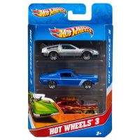 Hot Wheels Sada angličáků 3 ks