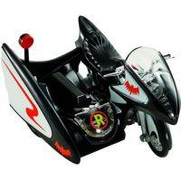 Hot Wheels Batman Prémiové auto 1:50 Batcycle