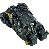 Hot Wheels Batman Prémiové auto 1:50 The dark knight Batmobile