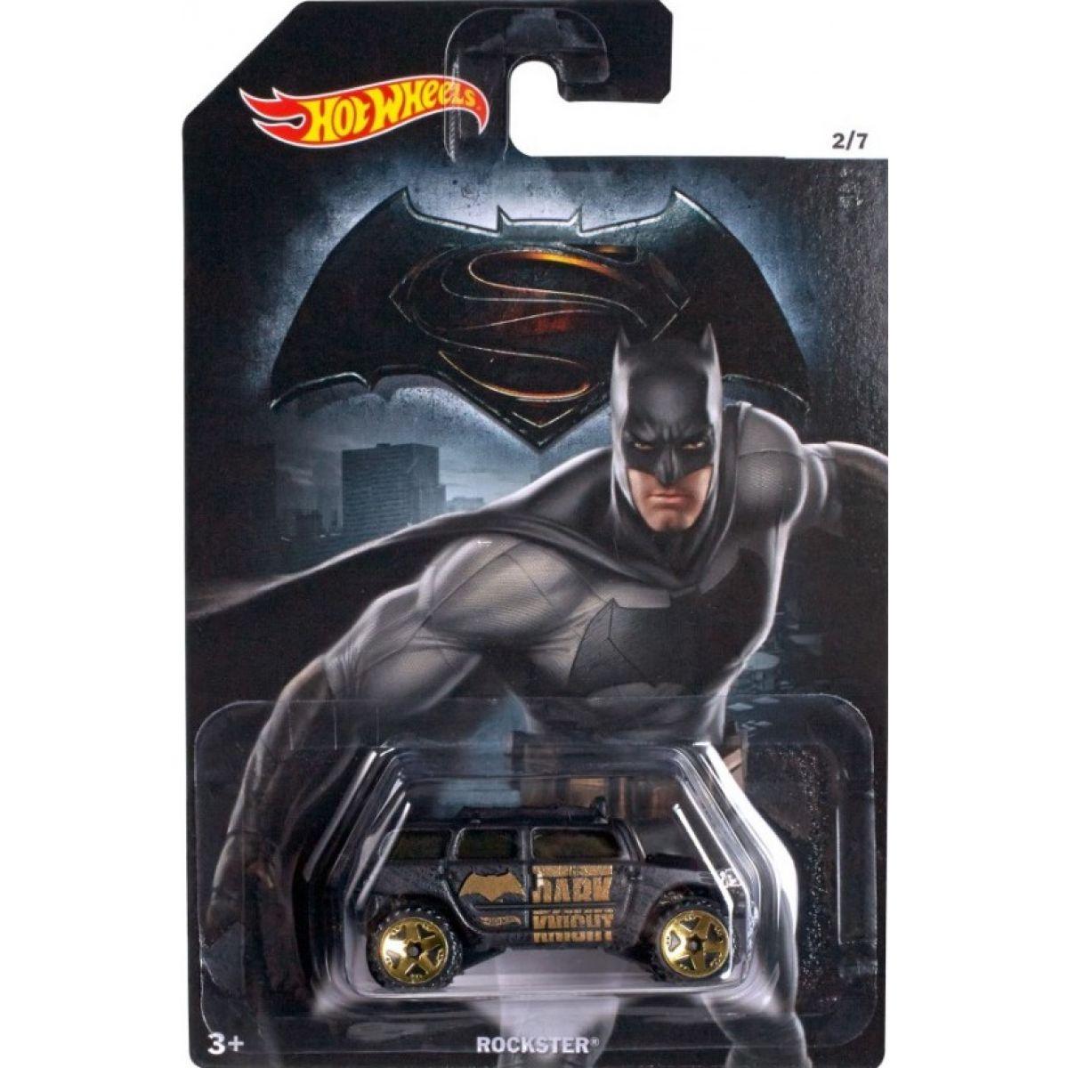 Hot Wheels Batman vs Superman Angličák - Rockster