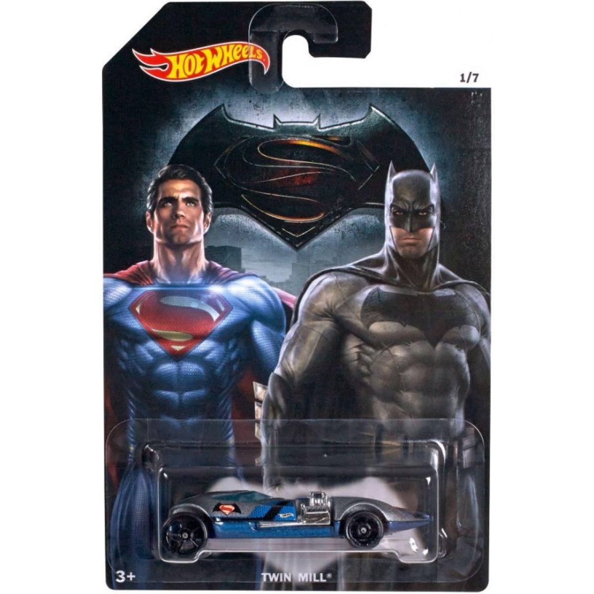 Hot Wheels Batman vs Superman Angličák - Twin Mill