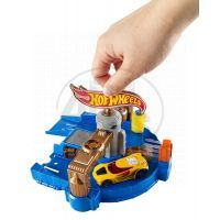 Hot Wheels Set městem na kolech - Car Wash 2