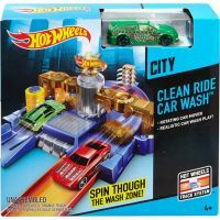 Hot Wheels Set městem na kolech - Car Wash 5