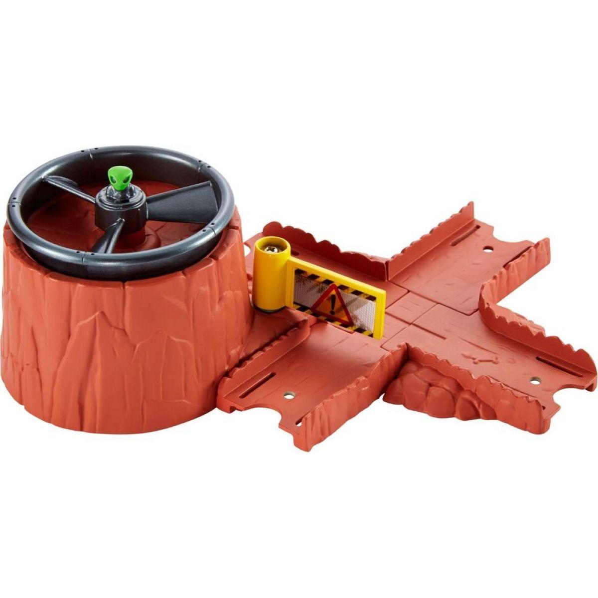 Hot Wheels Track Builder základní set - UFO odpalovací rampa