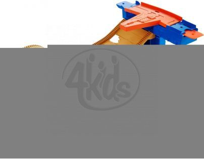 Hot Wheels Track Builder střední set - Stunt Barrel