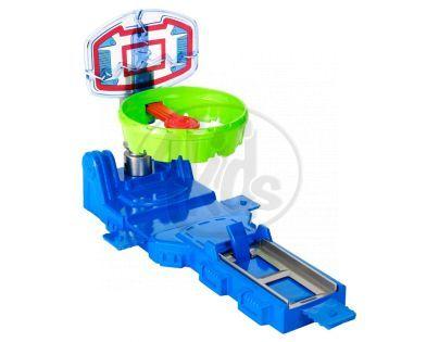 Hot Wheels Track Builder střední set - Tref se do koše