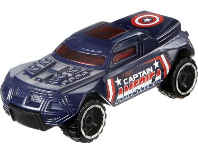 Hot Wheels Captain America angličák - RD-08