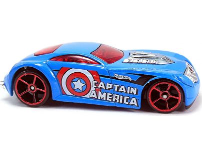 Hot Wheels Captain America angličák - Sir Ominous