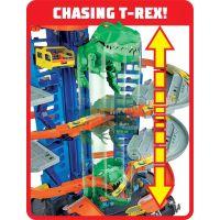 Hot Wheels city garáž s T-rexem 3