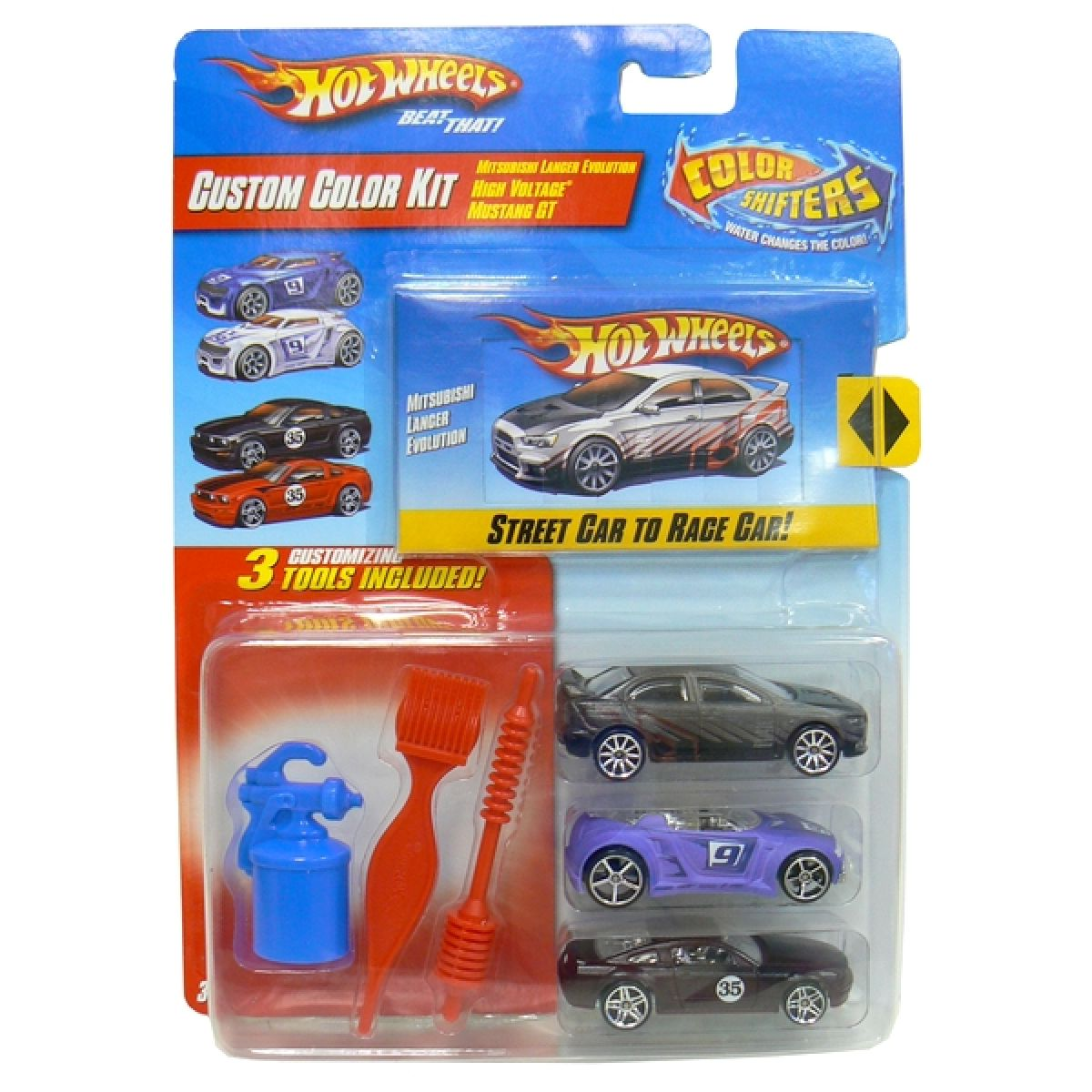 Hot Wheels R9602 Custom Color Kit - Street car to race car