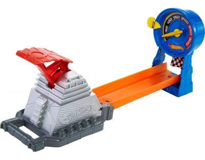 Hot Wheels dráha do kapsy - CKJ09 Závodní rychloměr