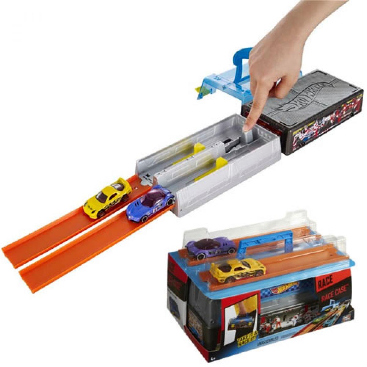 Hot Wheels Závodní krabice herní set