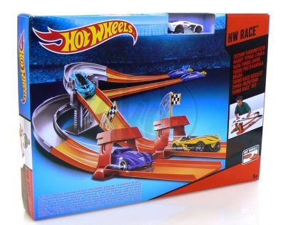 Hot Wheels Dráha 3v1 - Turbo závod