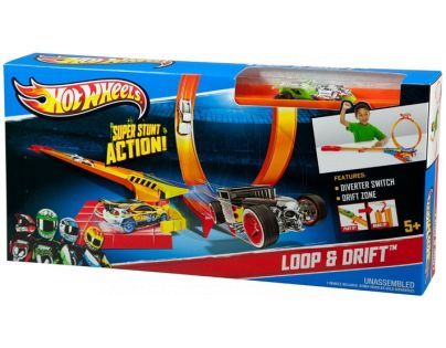 Hot Wheels Hrací sady speciálních efektů - Loop a Drift