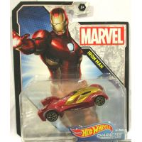 Hot Wheels Marvel Character Cars Iron Man