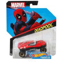 Hot Wheels Marvel kultovní angličák Deadpool