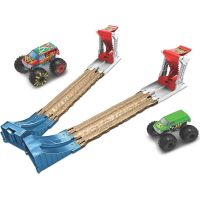 Hot Wheels Monster trucks dvojitá deštrukcie herný set