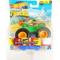 Hot Wheels Monster trucks kaskadérské kousky Burger Delivery