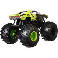 Hot Wheels Monster trucks kaskadérské kousky Dodge Charger RT černý 2