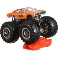 Hot Wheels Monster trucks kaskadérské kousky Dodge Chatger R-T