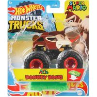 Hot Wheels Monster trucks kaskadérské kousky Donkey Kong