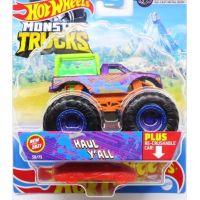 Hot Wheels Monster trucks kaskadérské kousky Haul Y All