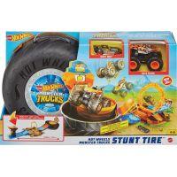 Hot Wheels Monster trucks herní set ohnivý kruh 3
