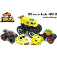 Hot Wheels Monster trucks kaskadérské kousky Motosaurus oranžový 2