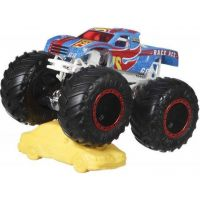 Hot Wheels Monster trucks kaskadérské kousky Race Ace