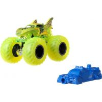 Hot Wheels Monster trucks kaskadérské kousky Shark Wreak