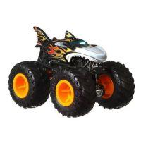 Hot Wheels Monster trucks kaskadérské kousky Shark Wreak černá