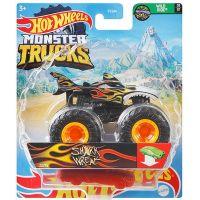 Hot Wheels Monster trucks kaskadérské kousky Shark Wreak černá 2