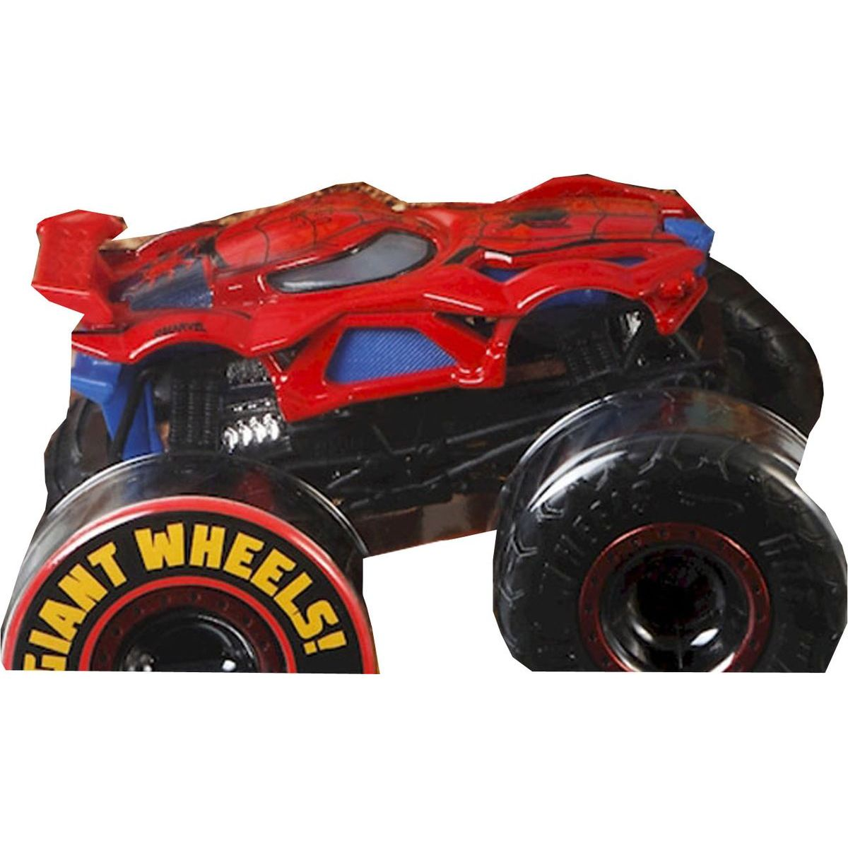 Hot Wheels Monster trucks kaskadérské kousky Spiderman