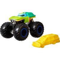 Hot Wheels Monster trucks kaskadérské kousky Turtles Leonardo
