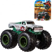 Hot Wheels Monster trucks kaskadérské kousky V8 Bomber 2